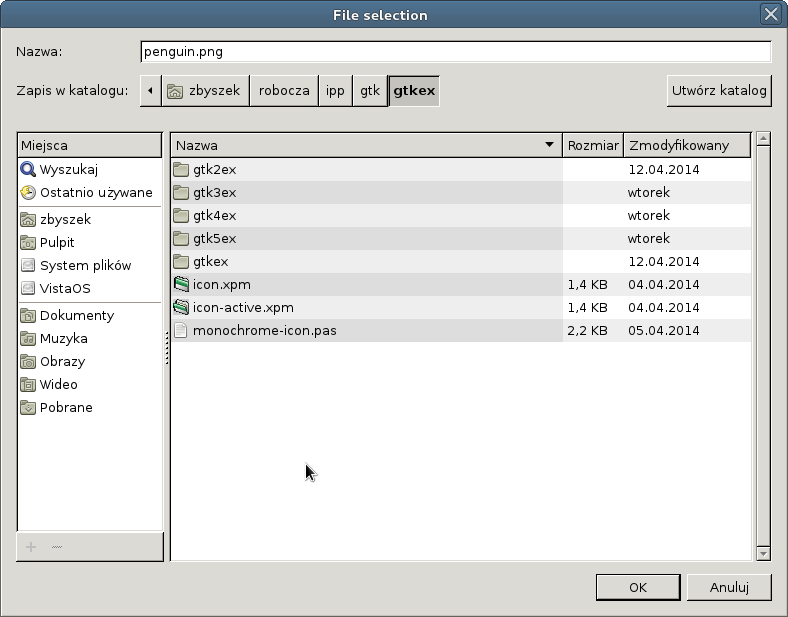Using GTK+2 with the FPC
